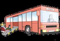 Zeichnung eines Busses